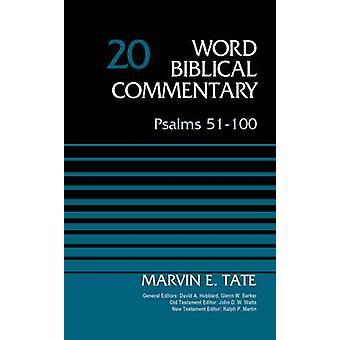 Psalm 51-100-pojemność 20 przez Marvin Tate - David Allen Hubbard - Glenn