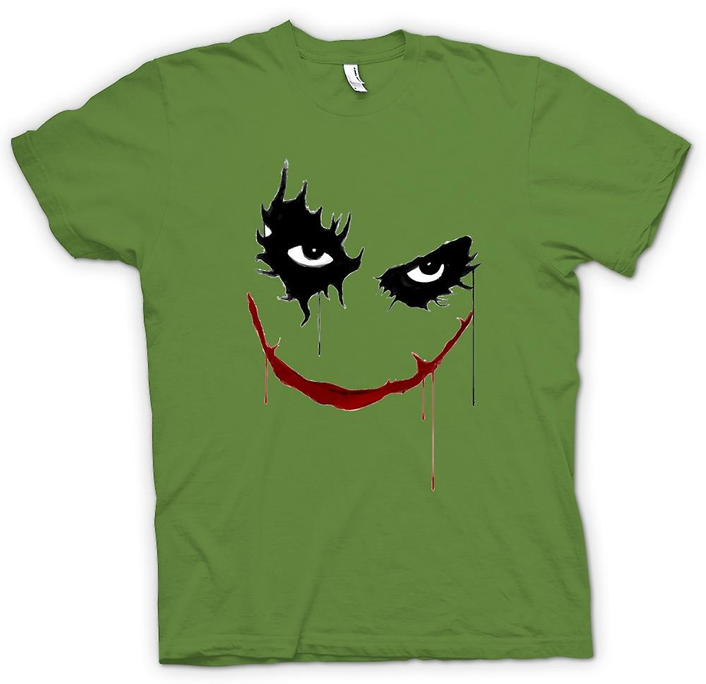 Herren T-Shirt - Joker Lächeln - Batman - Pop-Art