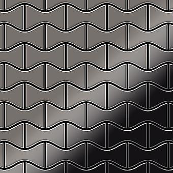 Metal mosaic Titanium ALLOY Kismet-Ti-SM
