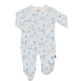 Magnificent Baby Boy Magnetic Me™ Organic Cotton Footie