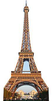 Eiffeltårnet - Lifesize papp åpning / Standee