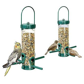 Karlie Flamingo Wild bird feeder for birds hanging - green 23 cm