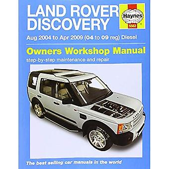 Land Rover Discovery Diesel Service and Repair Manual (Haynes Service and Repair Manuals)