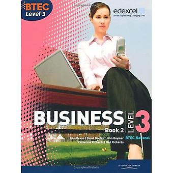 BTEC Level 3 National Business Student Book 2: book 2