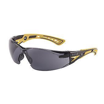 Bolle Rushppsfy Platinum Smoke Lens Anti-Scratch & Fog Black/Yellow