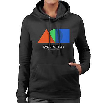 Syncretism Philosophy Symbol Women's Hooded Sweatshirt