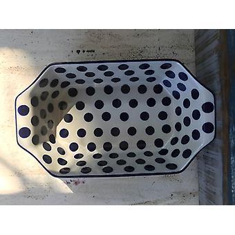 Bakken schotel 36 x 21,5 x 9 cm, traditie 28, polska aardewerk - BSN 21743