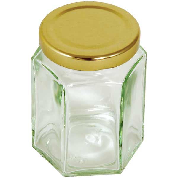 Hexagonal Preserving Jar - 228 ml / 8 oz