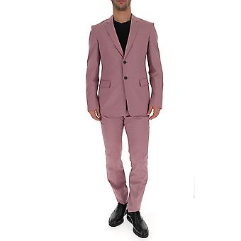 Prada Pink Cotton Suit