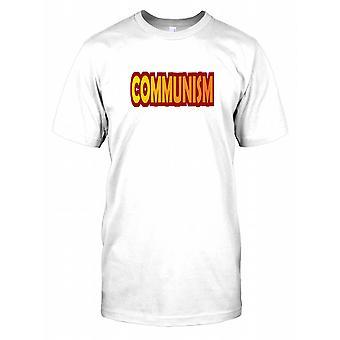 Communism - Political Kids T Shirt