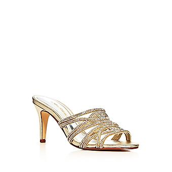 Caparros Womens Impulse Slide Open Toe Special Occasion Slide Sandals