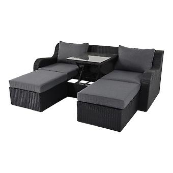 Outdoor Living Multibank Pandora Black