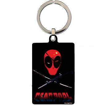 Deadpool Metal Keyring