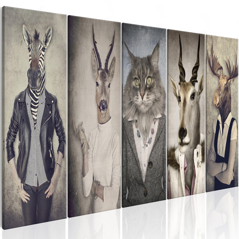 Tableau - Animal Masks I