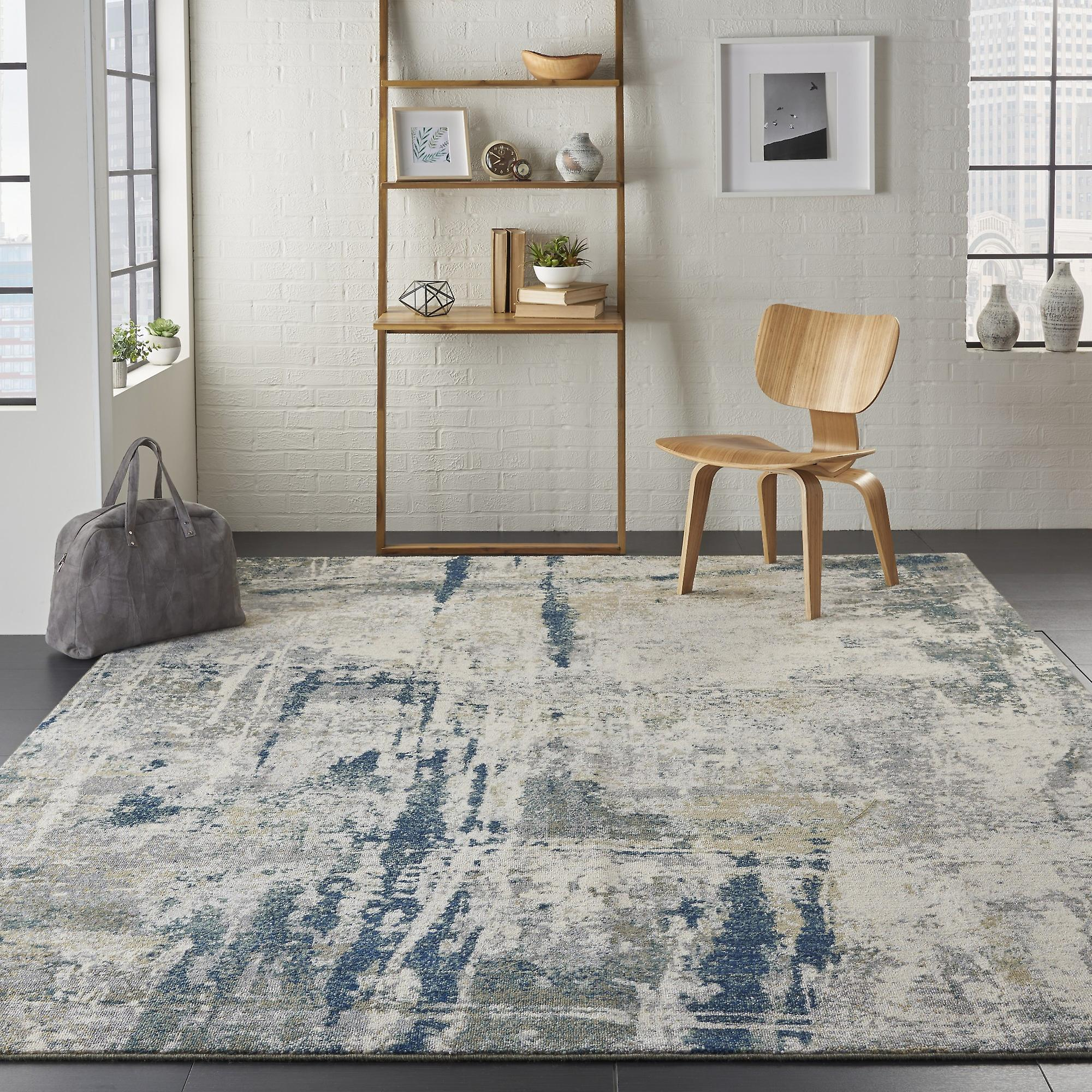 Artworks Rugs Atw05 In Ivory Navy