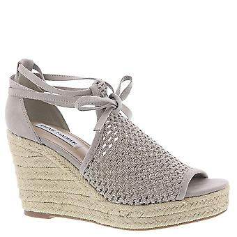 Steve Madden Womens bambino Fabric Open Toe Casual Strappy Sandals