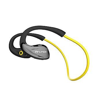 Awei a880bl sport wireless headphones yellow
