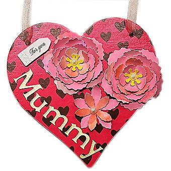 LilyPond håndværk & gaver mor ' s dag hængende Heart Wall plaque