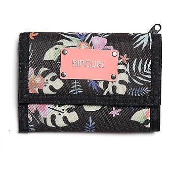 Rip Curl Toucan Flora Surf Polyester Wallet in Black