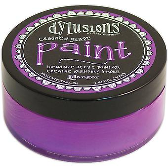 Dyan Reaveley's Dylusions Paint 2oz-Crushed Grape DYP-45960