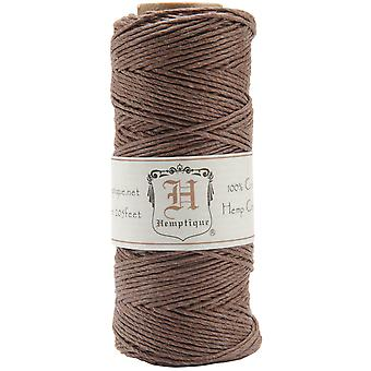 Hemp Cord Spool 20# 205 Feet Pkg Dark Brown Hs20 Drkbr