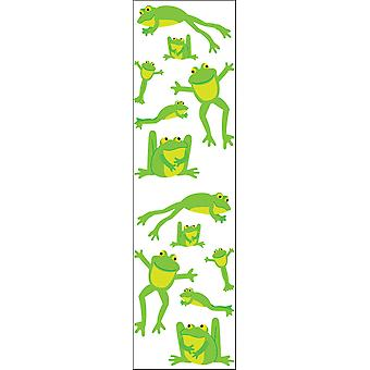 Mrs. Grossman's Stickers Playful Frogs Mg199 04493