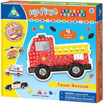 My First Sticky Mosaics Kit Team Rescue Stckym 64068