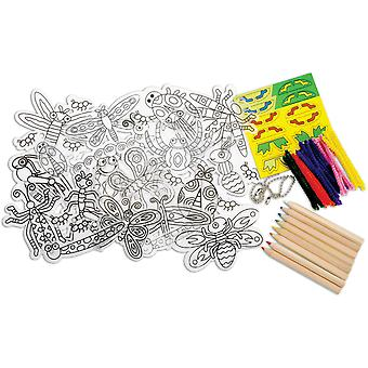 Shrinky Dinks Insects 26 Pkg 397I