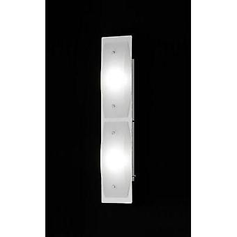 LED wall light 8 W Warm white Honsel Liana 38792 Chrome, White (matt)