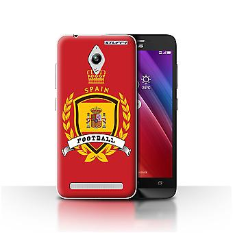 STUFF4 Case/Cover for Asus Zenfone Go ZC500TG/Spain/Spanish/Football Emblem