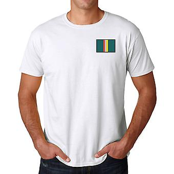 Small Arms School - Embroidered TRF Logo - Official British Army Ringspun T Shirt