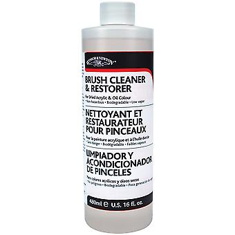 Winsor & Newton Brush Cleaner & Restorer-16oz 3250895