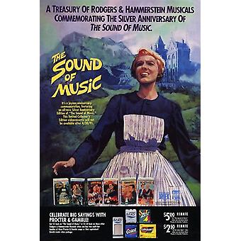 The Sound of Music Filmposter (11 x 17)