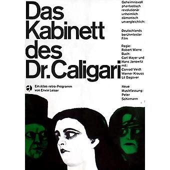 Le Cabinet du Dr Caligari Movie Poster (11 x 17)