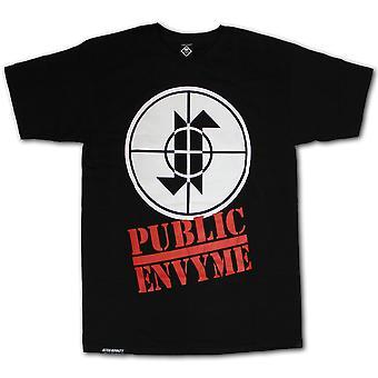 Jilted droits Envy publique T-shirt noir