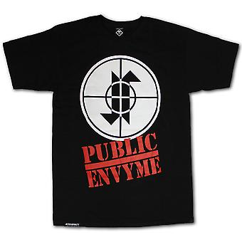 Jilted Royalty Public Envy T-shirt Black