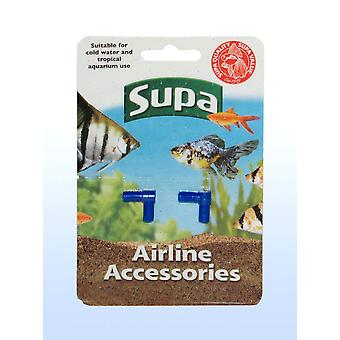Supa Airline Elbows Carded 2pack (Pack of 12)