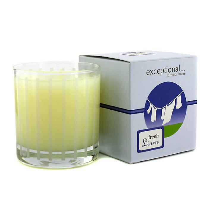 Exceptional Parfums Fragrance Candle - Fresh Linen 227g/8oz