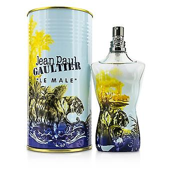 Jean Paul Gaultier Le Male Summer Eau De Toilette Spray (édition 2015) 4,2 oz / 125ml