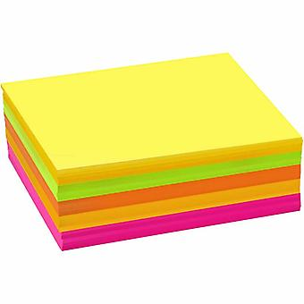 120 Assorted Neon A6 Card Sheets for Crafts | Coloured Card for Crafts