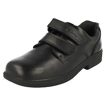 Boys Clarks Smart School Shoes Deaton Gate