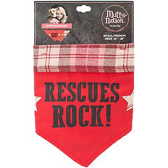 Miranda Lambert's Mutt Nation Dog Bandana Small-Rescue Rocks FP8777ST