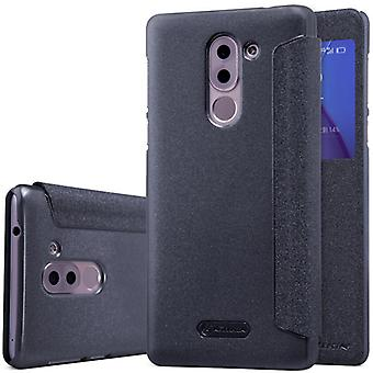 Nillkin smart cover sort for Huawei honor 6 X lomme case case case beskyttelse