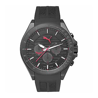 Puma Uhr Armbanduhr Herrenuhr Forward black Chronograph PU104021001
