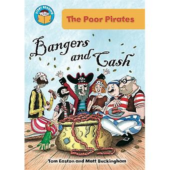Bangers and Cash (Start Reading: The Poor Pirates) (Paperback) by Easton Tom