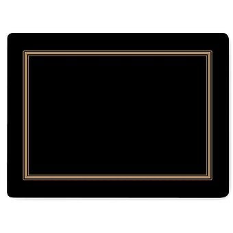 Pimpernel Classic Black Placemats Set of 6