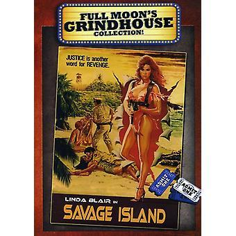 Importación de USA de isla salvaje [DVD]