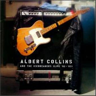 Albert Collins & Icebreakers - Live 1992-93 [CD] USA import