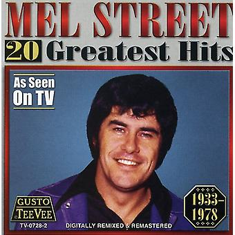 Mel Street - 20 Greatest Hits CD] USA importerer