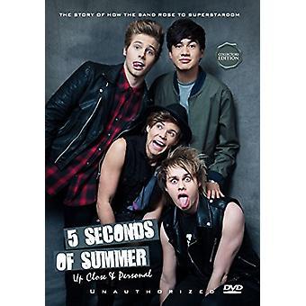 5 sekunder af sommer - op tæt & personlige [DVD] USA import